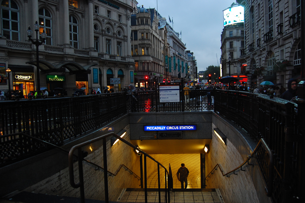 Picadilly Circus Station