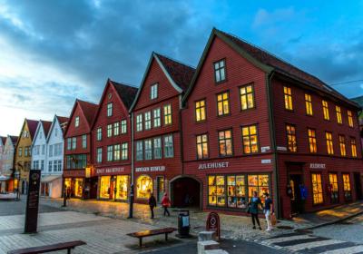 Bergen, Noruega. ©David Alonso Rincón