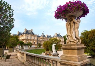 Jardines de Luxemburgo, París. ©David Alonso Rincón